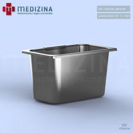 Abb.: Edelstahl, gebürstet autoklavierbar (121°C, 1 bar)